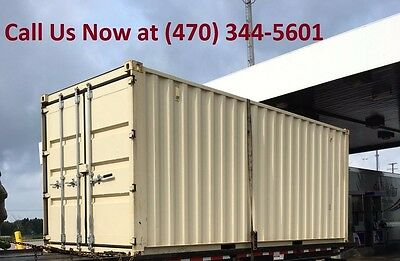 New One Trip 20ft Shipping Container Storage Container in Dallas Texas