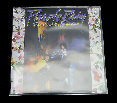 """25 x 12"""" Inch Record Sleeves LP Outer Covers 520g Gauge Polythene Plastic"""