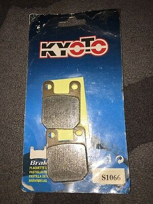 Peugeot Xps125 Ct Xps 125 Enduro Front And Rear Brake Pads Kyoto S1066