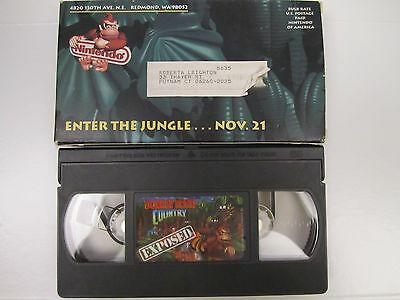 Donkey Kong Country Exposed VHS Promo Video - Super Nintendo