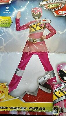 Disguise Pink Power Ranger Dino charge new