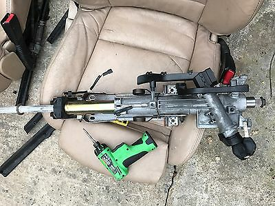 GENUINE BMW E46 STEERING COLUMN Complete With Key