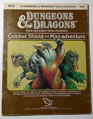 1984 TSR 9099 D&D AC2 Combat Shield Game Accessory - Shield Only