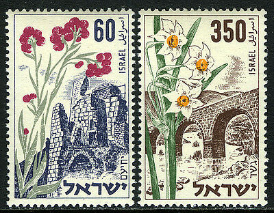 Israel 84-85, MNH. Memorial Day. Flowers, 1954