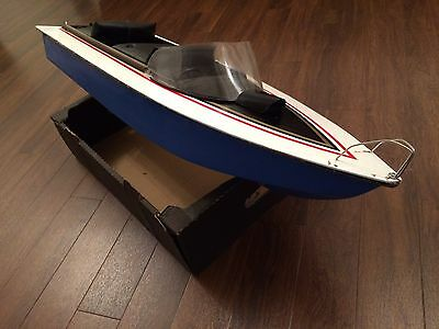 Vintage Electric Radio Controlled Speed Boat RC 84 Cm Long