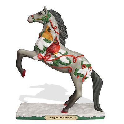 TRAIL OF PAINTED PONIES -Song of the Cardinal- Horse Figurine - 1E /876 - Resin