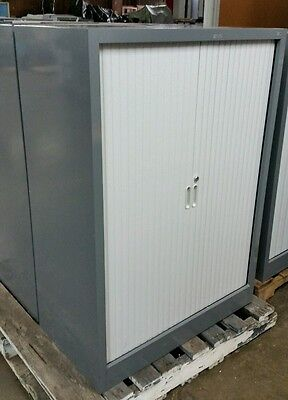 CSM TAMBOUR CABINET 122h 90w FILING STORAGE OFFICE APARTMENT SHED GARAGE CUPBRD