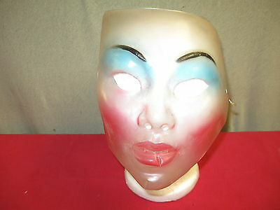 Old Plastic Face Mask Clear