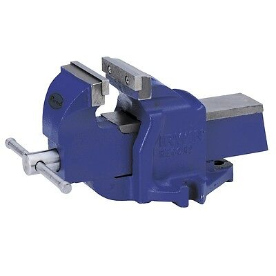 Irwin Steel Iron Mechanical Vise without Swivel Base 100 mm Safety Stop Robust