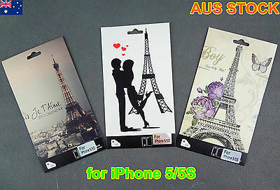 iPhone 5, 5S Skin Vinyl Sticker Kit Back & Front Protect Cover Film (C601)