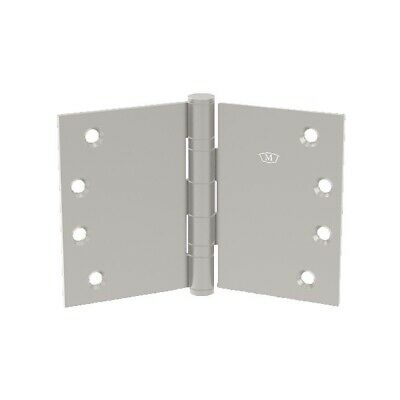 McCallum S240 Wide Throw Door Hinge Stainless Steel Fast-Fix 100x150x3mm