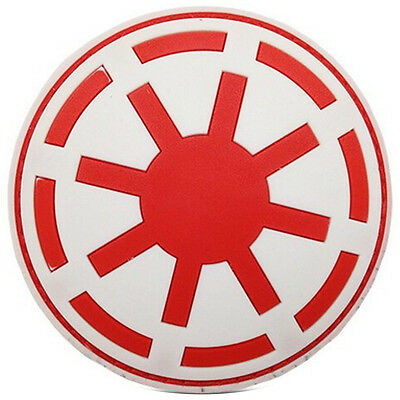 Star Wars Army White And Blue 3D Pvc Rubber Morale Badge Tactical Hook Patch #2