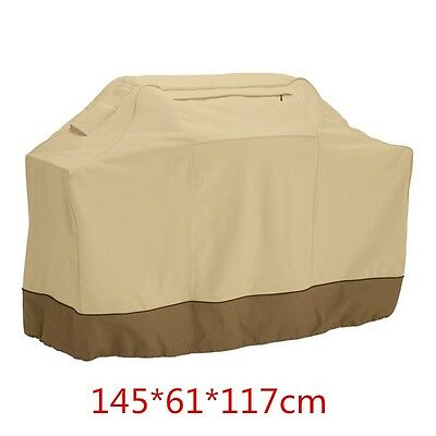 Waterproof BBQ Cover Patio Gas Barbecue Grill Protection 145*61*117cm