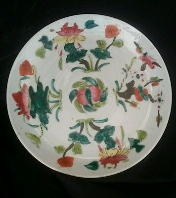 Assiette Porcelaine Canton Chine Chinese Porcelain Plate XVIII compagnie indes