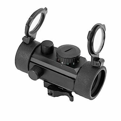 """Lunette Compact Red Dot Point Rouge & Vert Swiss Arms Airsoft """"neuf"""" 263921"""