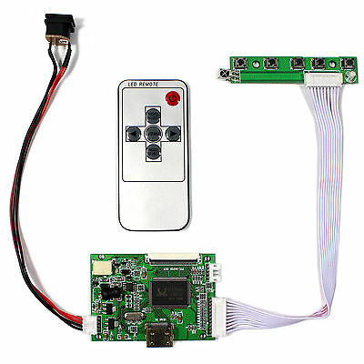 HDMI LCD Controller board remote work for 8inch 800x600 TTL 50pins LCD panel