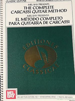 The Complete Carcassi Guitar Method - for Classic Guitar
