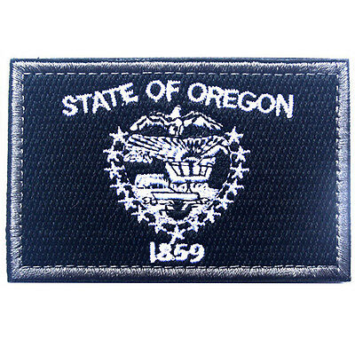 USA Oregon FLAG OR STATE FLAG U.S. ARMY MORALE BADGE TACTICAL HOOK LOOP PATCH #2