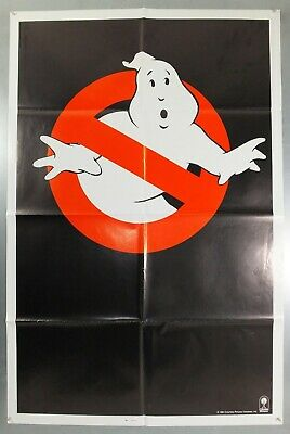 Ghostbusters - Bill Murray / Dan Aykroyd - Original Usa One Sheet Movie Poster