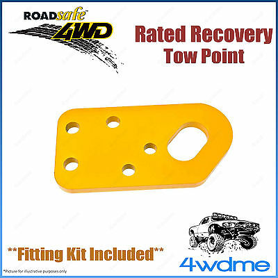 Nissan Patrol GQ GU Series1 4WD Roadsafe Rated Recovery Heavy Duty Tow Point Kit