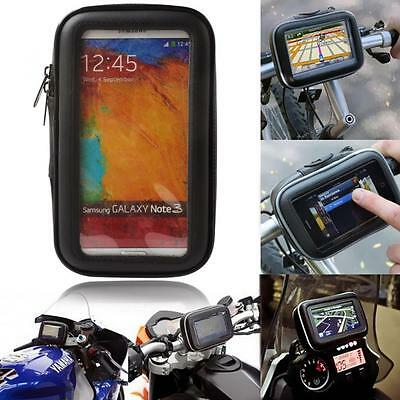 Waterproof Motorcycle Bicycle Bag Case Pouch for 3.5 4.3 5Inch GPS Navigation