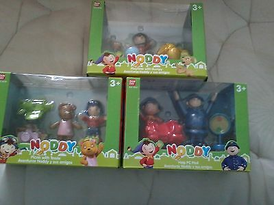 3 noddy figure playsets help pc plod playtime with bumpy picnic tessie new