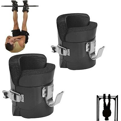 HTH Gravity Inversion Boots Heavy Duty Abs Back Stomach Core Exerciser Fitness