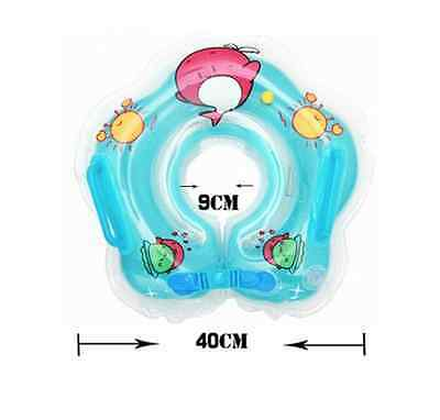 Baby Infant Swimming Pool Kids Neck Aid Trainer Float Tube Ring Inflatable Toy