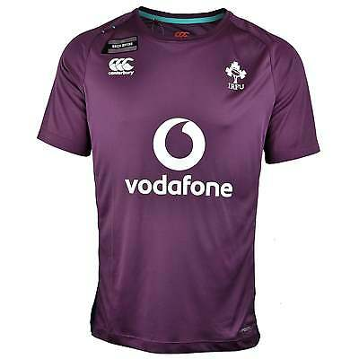 Canterbury Ireland Vapodri Superlight T-Shirt - Plum