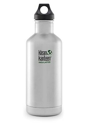 Klean Kanteen 32oz Insulated Classic Loop Cap / Stainless