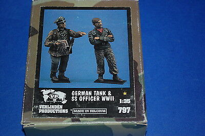 Verlinden Productions 797 - German Tank & SS Officer WWII scala 1/35