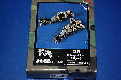 Verlinden Productions 1227 - SS Troops at Rest   scala 1/35