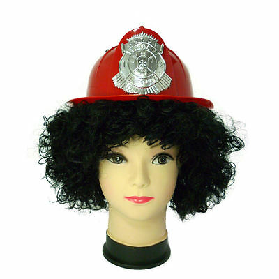 Fireman Hat Helmet Halloween Fancy Dress Accessories