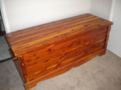 Vintage Red Cedar Wood Chest/Trunk by Murphy - Rare model #4023