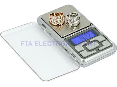 500g/0.01g LCD Digital Pocket Jewelry Weighing Electronic Scale Weigher Portable