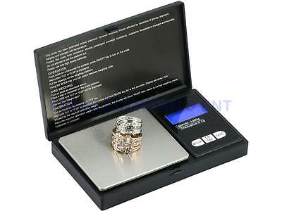 Digital LCD Scale 1000g x 0.1g Jewelry Gold Silver Coin Gram Pocket Size Herb