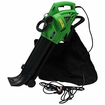 Charles Bentley 3000W 3 in 1 Leaf Blower / Vacuum / Shredder With 45 Litre Colle