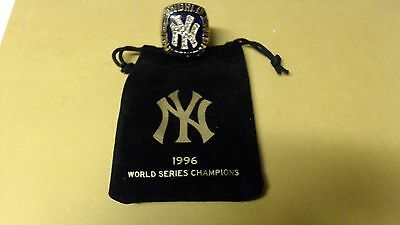 New York Yankees 1996 Replica World Series Ring With Pouch Sharp