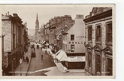 HIGH STREET, INVERNESS: Inverness-shire postcard (C6952).