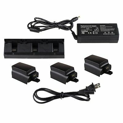 3 in 1 Parallel Balance Rapid Multi Battery Charger Hub for Parrot Bebop Drone 3