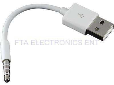 USB Data Sync & Charger Cable Cord for Apple iPod Shuffle 3rd 4th 5th Generation