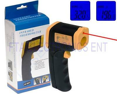 Non-Contact IR Infrared Digital Temperature Gun Thermometer Laser Point DT8380