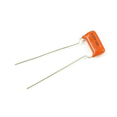"Sprague Orange Drop 0.001 Capacitor, Ideal For ""Treble Bleed"" On Volume Pots"