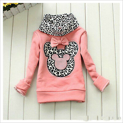 Girls Minnie Mouse Roll Neck Jumper Outfit Set 2-3 3-4 4-5 5-6 Years Uk Seller
