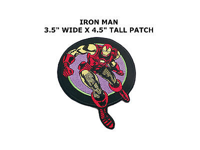 Iron Man Arc Reactor Embroidery Iron On Patch Badge