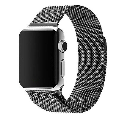 42MM Milanese Stainless Steel Loop Watch Band Replace Strap for Apple Watch New