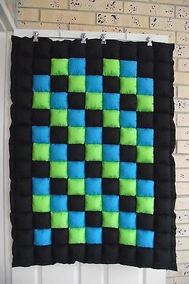 *COT SIZE*  NEW Baby cot Quilt (puff quilt)