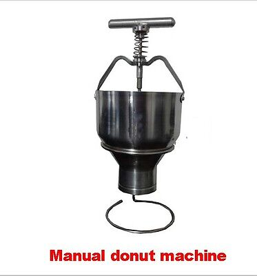 Manual donut maker,Pastry Donut Filler Machine Stainless Steel