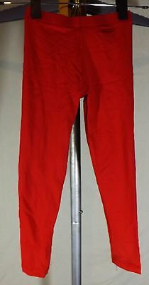 Bal Togs Kid's Size 6-7 Red Dance Pants Tactel Spandex Tights