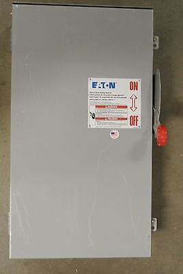 Eaton Cutler Hammer DH364URK 200 amp 600v non fusible 3R outdoor disconnect